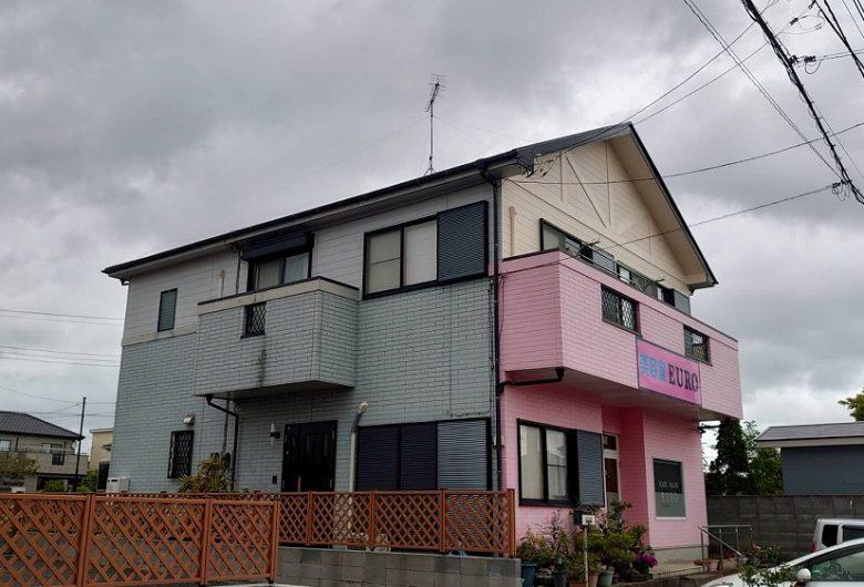 茂原市,外壁・付帯部塗装工事(パーフェクトトップND-370 )