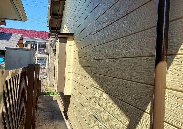 君津市K様邸,外壁塗装工事(パーフェクトトップND-500つや消し)