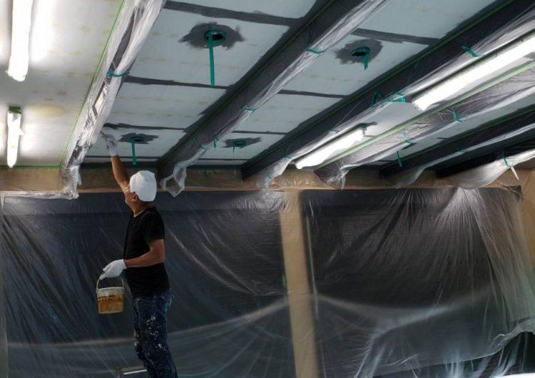 市原市 天井塗装