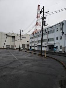 羽田航空基地 高所 塗装