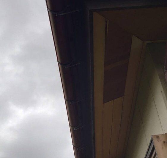 木更津市矢那H様邸,軒天張り替え工事