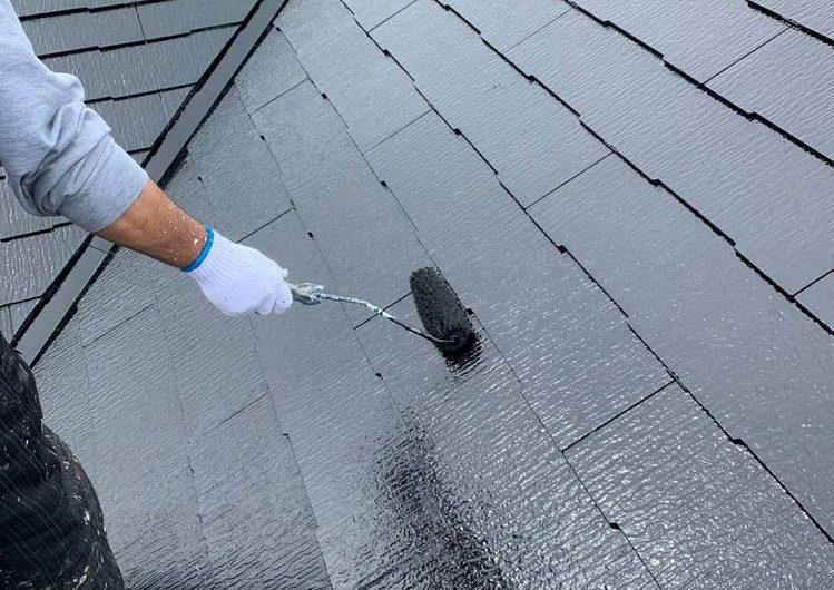 千葉市生実町K様邸,屋根外壁塗装
